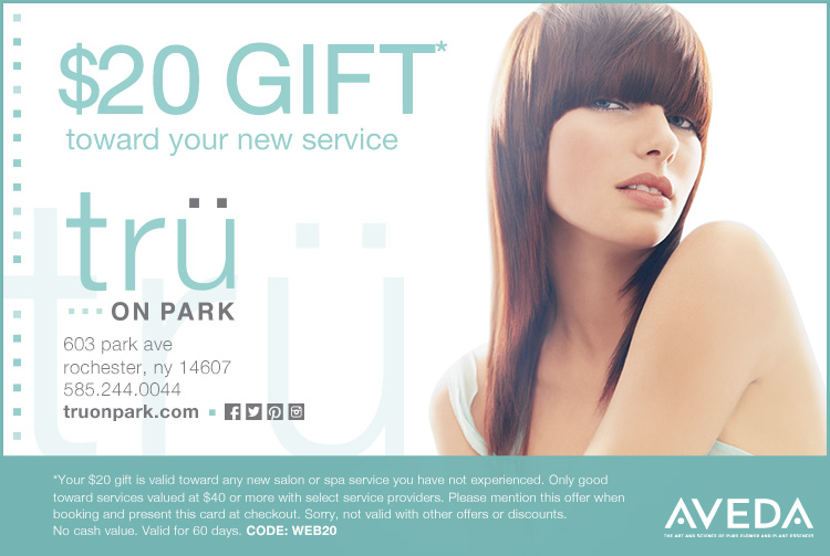 $20 gift toward your new service
